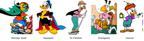 Personagens Pardal