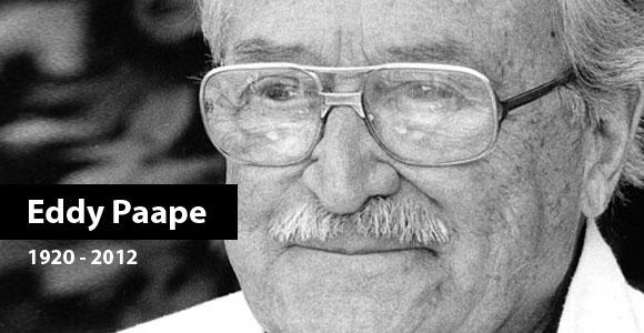 Morreu Eddy Paape aos 91 anos