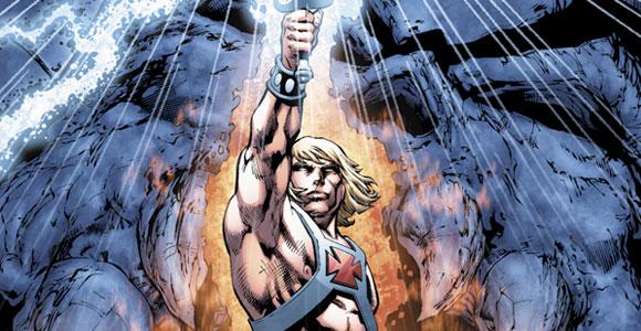 Nova minissérie de He Man pela DC Comics