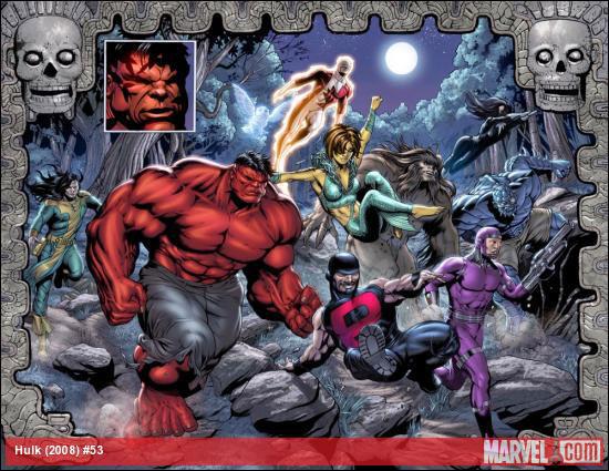 Hulk Vermelho enfrenta o fim do mundo e a profecia Maia
