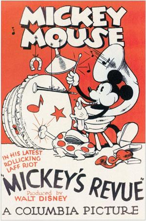 Mickey's Revue - Primeira aparição de Pateta