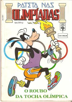 Pateta nas Olimpíadas - O Roubo da Tocha Olímpica