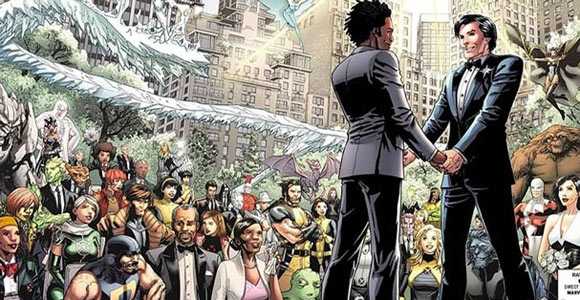 Casamento gay em X-Men