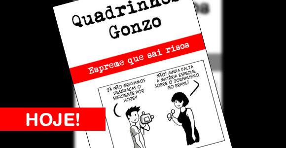 Lançamento de Quadrinhos Gonzo na Quanta Academia de Artes acontece hoje!