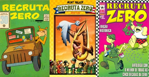 Revistas do Recruta Zero