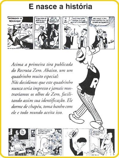 Spider - Primeira tira publicada do Recruta Zero