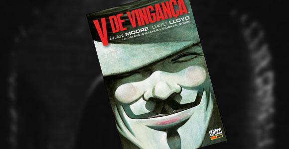 Nova edição de V de Vingança pela Panini
