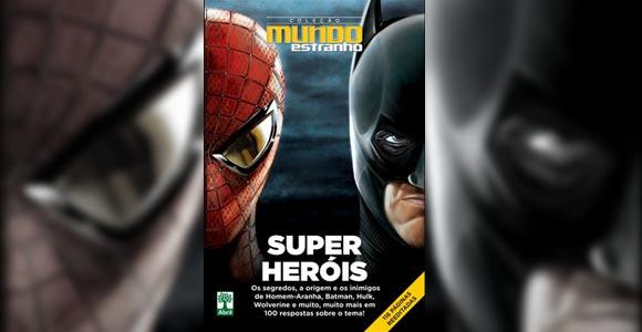 """Confira """"100 Respostas sobre Super-Heróis"""", da Mundo Estranho"""
