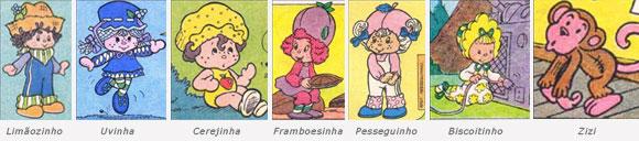 Personagens Moranguinho