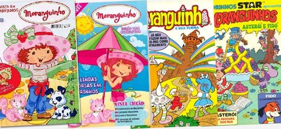 Revistas da Moranguinho no site