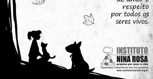 Vegana, uma história de amor aos animais
