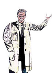 Prof. Smythe e seus robôs Esmaga-Aranha - Homem Aranha