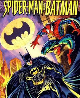Batman e Homem Aranha - Capa