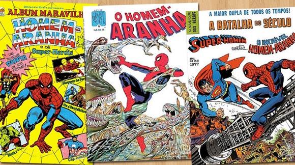 Capas de revista do Homem-aranha