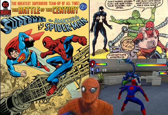 Homem Aranha 50 anos: Filmes, Jogos, Series e Crossovers