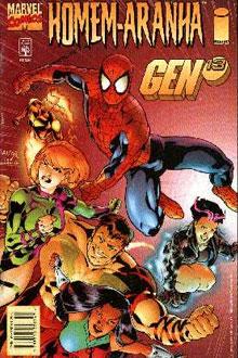 Homem Aranha e Gen 13