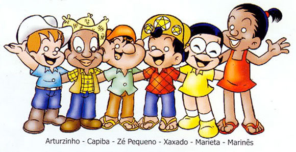 Personagens da turma do Xaxado