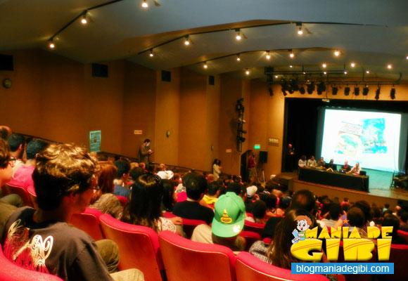 Público lota o auditório do SESC em Teresópolis, onde ocorreu o VII Animaserra