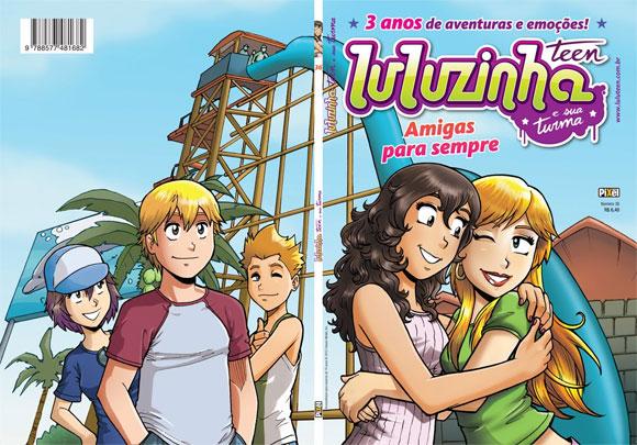 Luluzinha Teen passa a ter duas histórias completas por edição