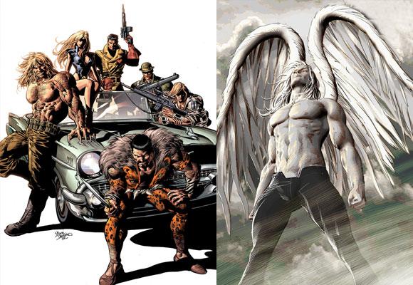 Projetos: Capa de New Avengers #10 e MSP 50