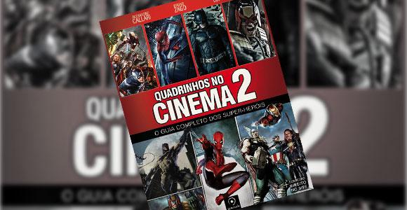 """Livro """"Quadrinhos no Cinema 2"""""""