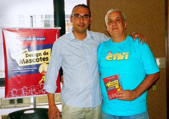 Rodrigodraw e Mazinho, no Animaserra 2012