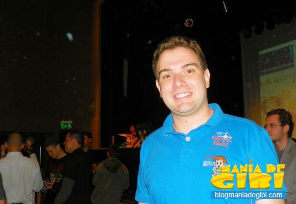 Yan Martins, finalista na mostra competitiva de animação em curta metragem