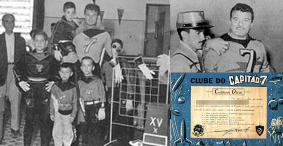 Capitao 7 na Record e certificado do Clube do Capitão 7