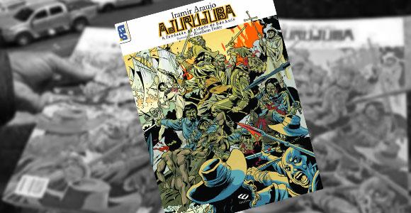 Fundação da cidade de São Luís é contada em quadrinhos