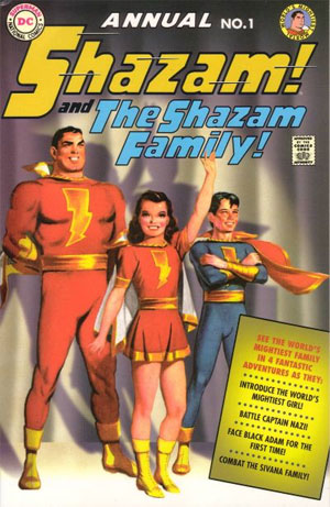 Shazam and the Shazam Family - Marc Swayze