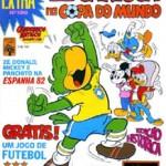 Zé Carioca na Copa do Mundo - Edição histórica