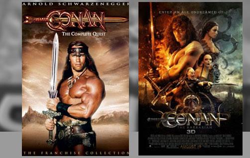 Conan, O Destruidor (1984) | Conan (2011)
