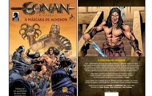 CONAN – A MÁSCARA DE ACHERON