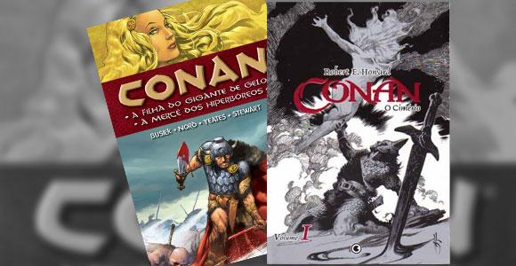 Nessa parte da matéria falaremos sobre as histórias e revistas de Conan