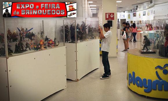Expo e feira de brinquedos, gibis e games