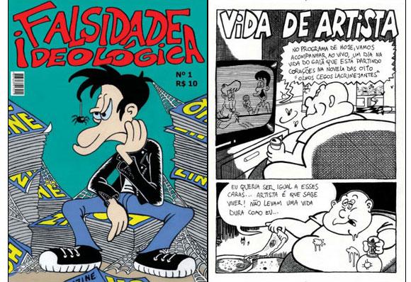 Quadrinhista Escobar lança a revista independente Falsidade ideológica