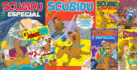 Revistas do Scooby Doo no site Mania de Gibi