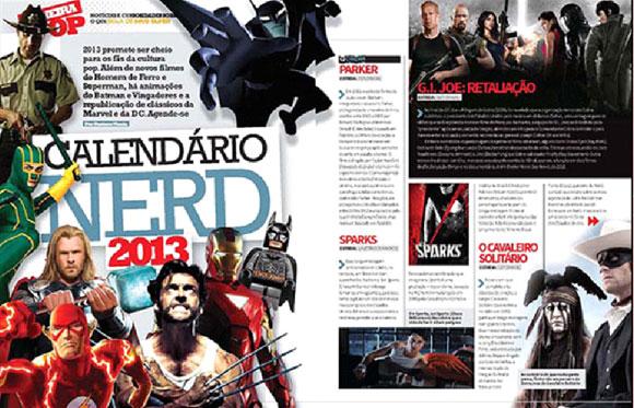 Calendário Nerd 2013
