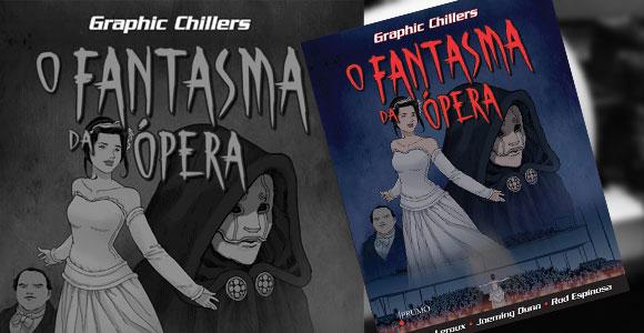 O Fantasma da Ópera em quadrinhos