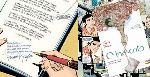 Nova HQ da Vertigo no Brasil aborda universo literário