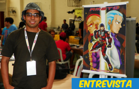 Mania de Gibi entrevista: Rael Mochizuki, criador do mangá Ameto