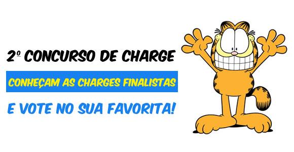 Charges finalistas do 2º Concurso de Charges