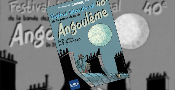 Vencedores do 40º Festival de Angoulême
