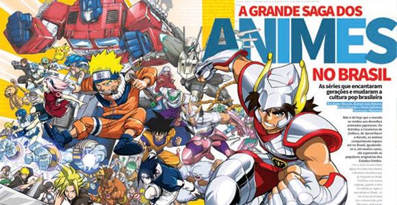 Revista Mundo dos Super-Heróis # 40 destaca animes no Brasil