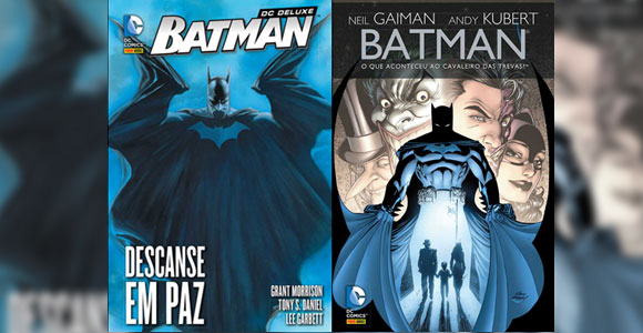 Panini encaderna novas histórias do Batman