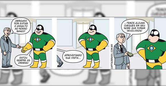 Lançamento da revista em quadrinhos do Capitão Brasil