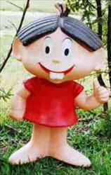 Boneco de Vinil da Mônica - 1970