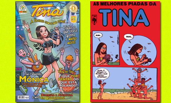 Revistas da Tina