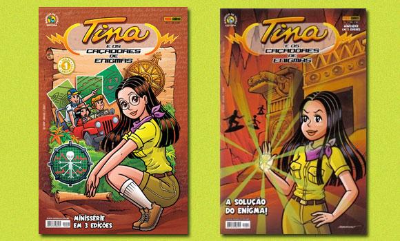 Tina e os caçadores de enigmas