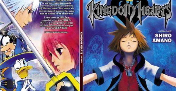 Kingdom Hearts é lançado pela editora Abril